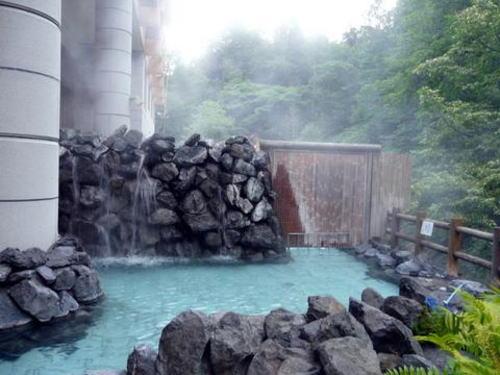 トムラウシ大雪荘の露天風呂
