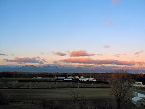 帯広の森展望台からの風景