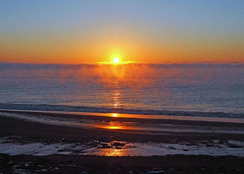 017年・初日の出は海で