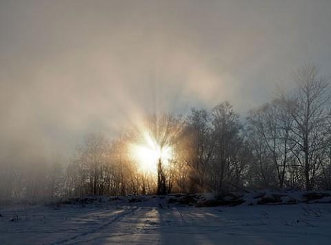 毛嵐光芒とブロッケン現象
