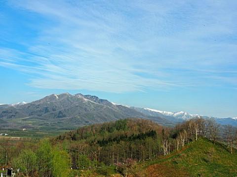 新嵐山展望台からの風景