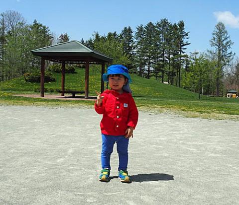 公園で遊ぶ可愛い子