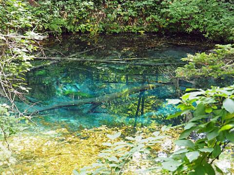 清里町の『神の子池』