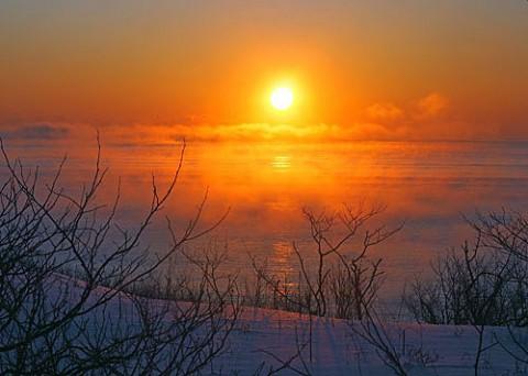 ホロカヤントーで日の出