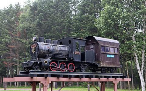 ミニSLと木製SL