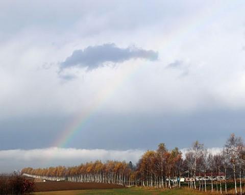 幸運の虹は幕別町で3度の出会い