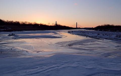 河原の風雪紋