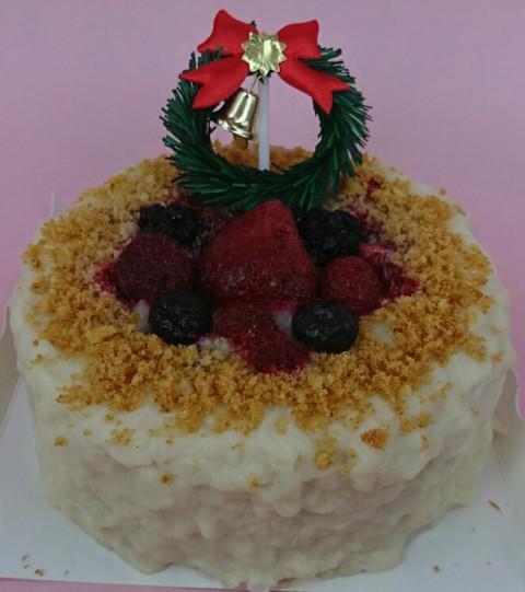 予約受付中♪わんちゃんのクリスマスケーキ♪