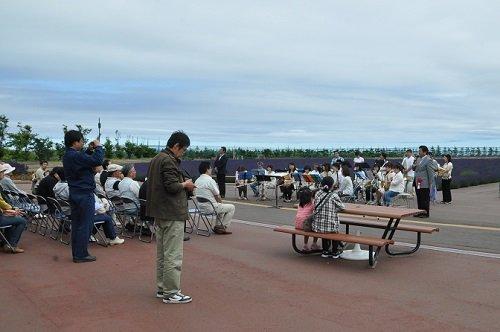7月12日 紋別市 オホーツクラベンダー畑・・・ラベンダーまつり開会