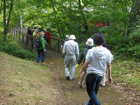 9月3日 滝上町 ふるさとまつり 渓谷ウォーク・・・1