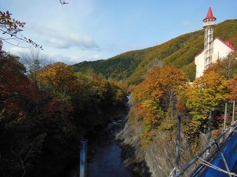 10月8日 滝上町 滝上と西興部の紅葉を巡るツアーのお手伝いへ