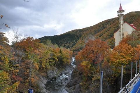 10月10日 滝上町 今日の錦仙峡2017・・・5 後半