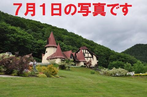 7月5日 滝上町 ハーブガーデンへ行きたいけど、雨が止みません