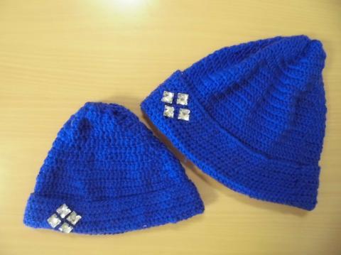 作品番号2番「毛糸の帽子」完成!