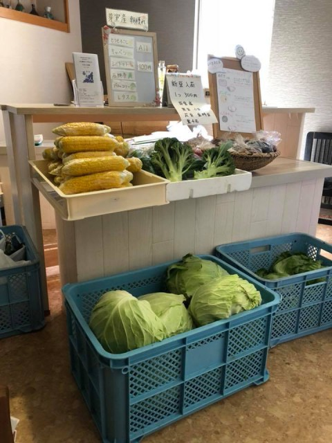 夢の共演 グローサラントもどき 「野菜売り場と飲食店の融合」