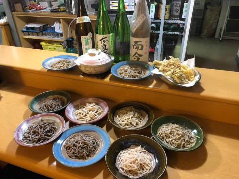 お蕎麦の食べ比べ!!お蕎麦の 麺の種類を選べる蕎麦料理屋