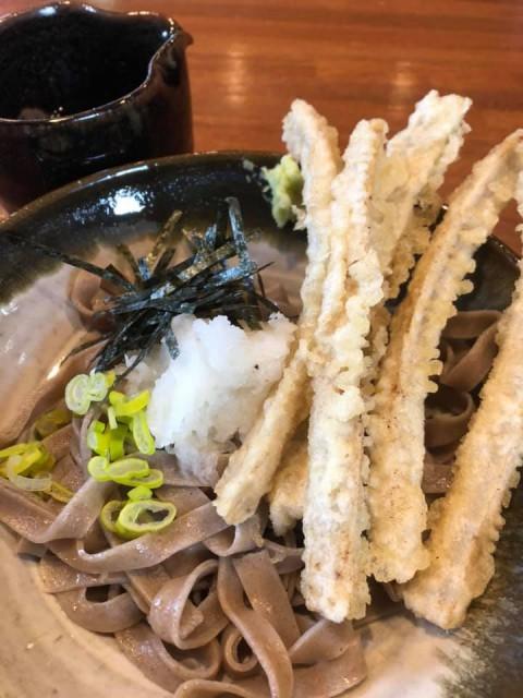 【十割 田舎 選べる蕎麦】季節限定の『九州の筍』残り僅かです