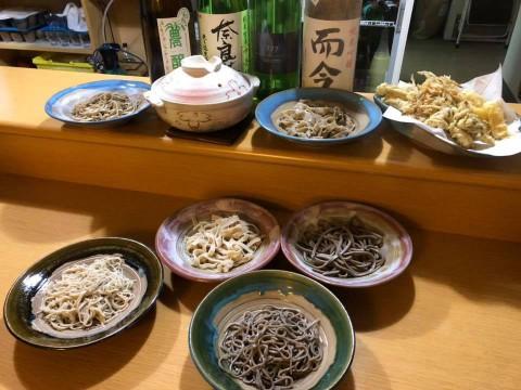 【打分ける8種の蕎麦】十勝マルシェ開催中 新旧10割蕎麦食べ比べ 今だけ