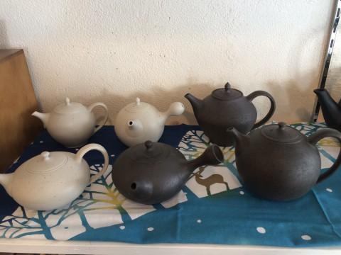 チコリー茶と、加藤財さんの急須。