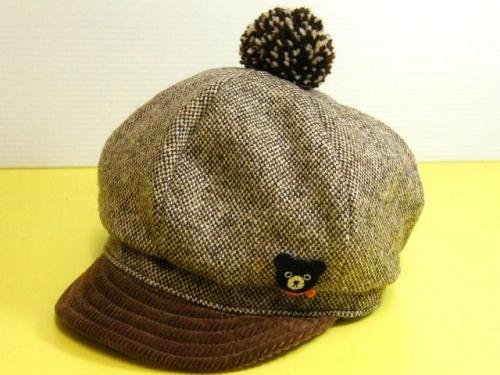 ダブルBのかわいい帽子 ミキハウスダブルB