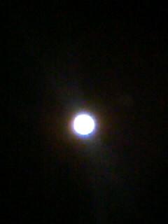 おはよう♪お月様