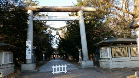 はじめてのひとり神社(帯広神社)