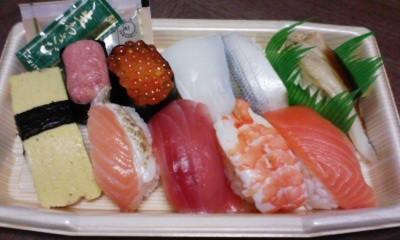 コンビニに【握り寿司】