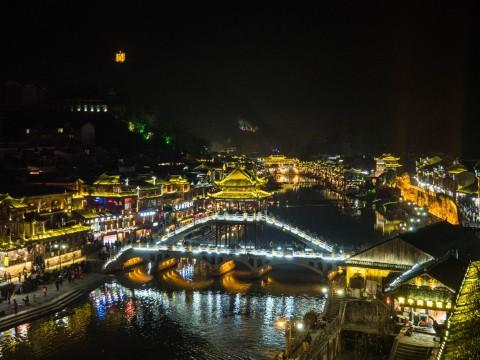 """2017武陵源・鳳凰・広州(4)~中国で最も美しい街""""鳳凰古城""""~"""