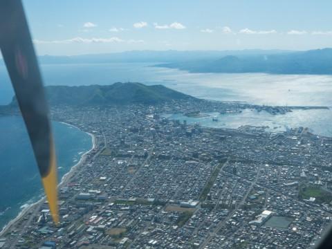 北海道エアシステムの新機材ATR42に乗って・・函館へ(3)