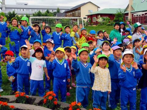 記念植樹 at つくし幼稚園