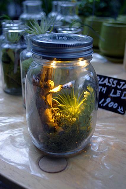 GLASS JAR with LED