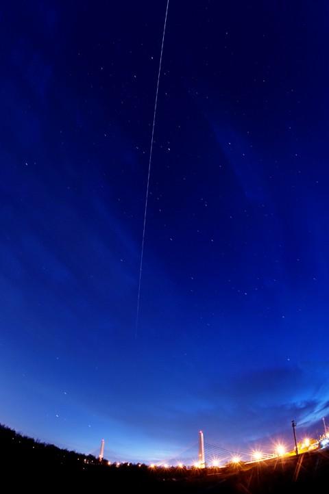 今夜の星空つづり 10/02 ISS