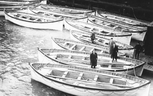 タイタニックの悲劇、あれから100年~救命ボートのこと