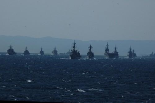 海上自衛隊・観艦式2012へ・・