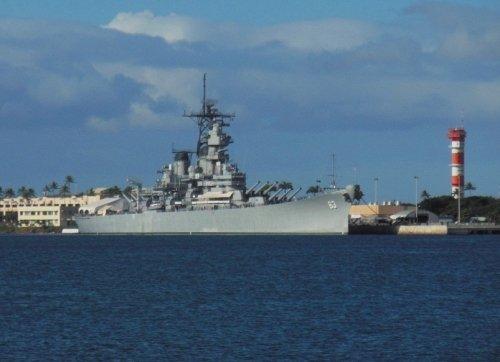 パールハーバーの戦艦『ミズーリ』を訪ねる・・