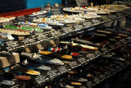 1/1250船舶模型・新商品入荷しています。(1/1250モデルシップコーナー)