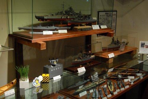 本日最終日・・魅惑の艦船模型の世界。