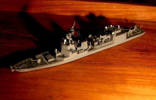 護衛艦『あきづき』・・・模型展出品作品から