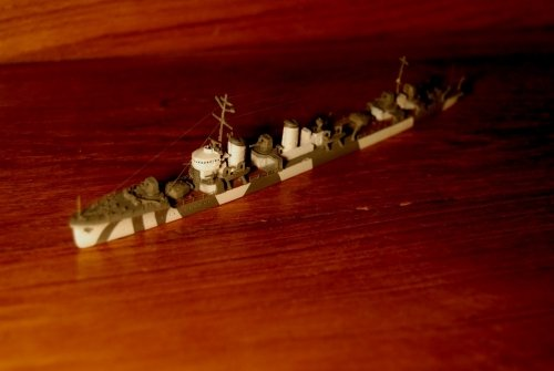 日本海軍駆逐艦『睦月』・・作品展出品作品から