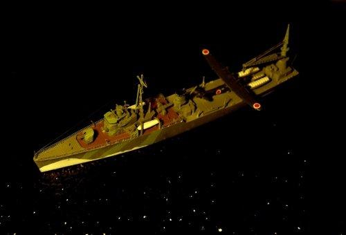 日本海軍飛行艇母艦・秋津洲・・作品展出展作品から・・