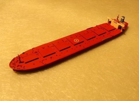 鉱石船『Peene ore』1/1250モデル。