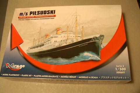 客船プラモデル・ ピウスツキ