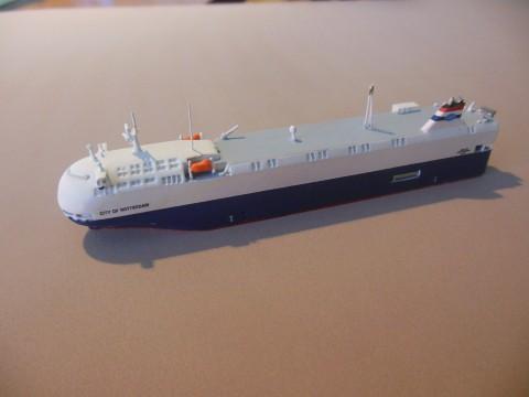 自動車専用船モデル City of Rotterdam
