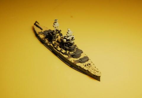 1/1250 模型コーナーから USS ARIZONA( 戦艦アリゾナ)