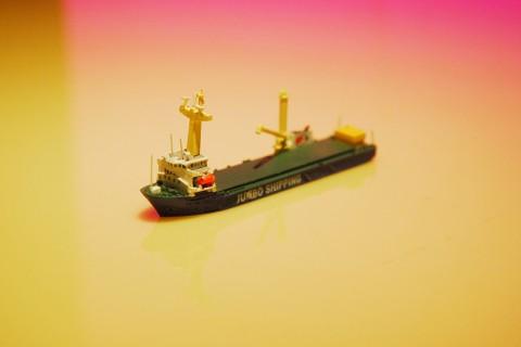 1/1250模型 重量物運搬船