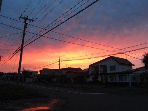 夕空 2014.7.23