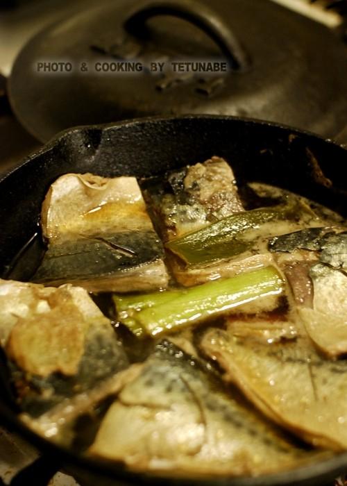 鯖  醤油煮