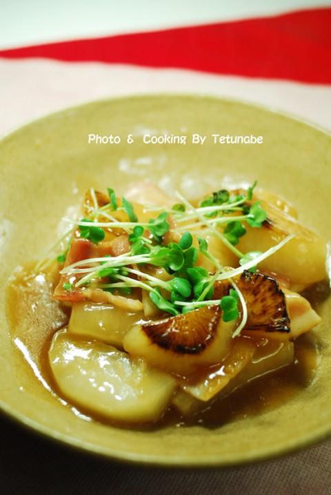 大根の中華スープ煮