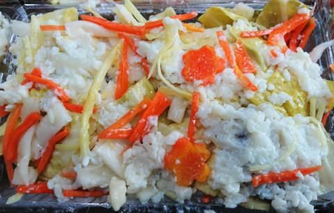 ヒラメの飯寿司出来た。