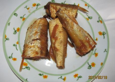 キュウリ魚の煮魚,桜鱒しゃくり作りVer.2